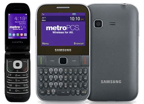 metropcs gsm alcatel 768 and freeform m available with $25