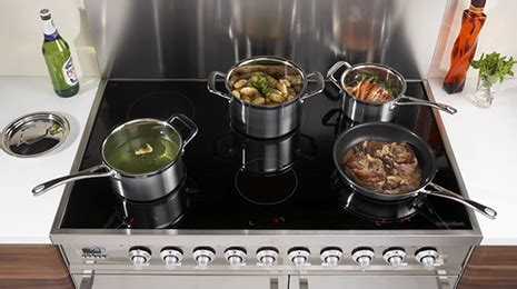 induction cooker zigma unique 6 zone induction range cookers only from britannia