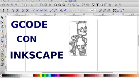 Drawing G Code Program by Generar Gcode Con Inkscape