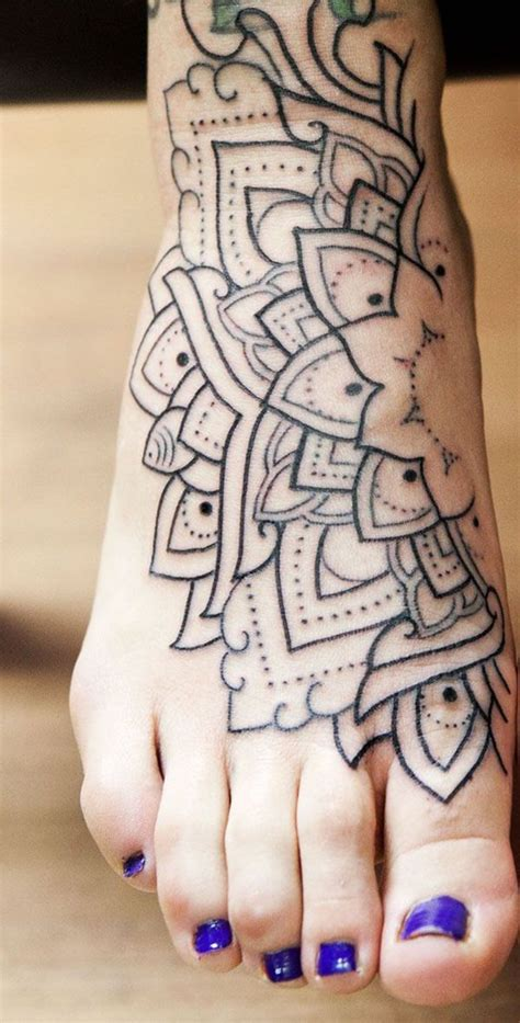 mandala leg tattoo 53 top mandala tattoos of all time