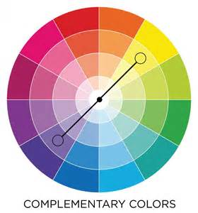 what colors compliment a color theory sheet picaboo yearbooks