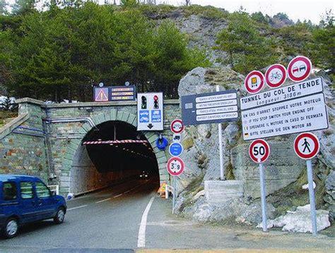 tende tunnel le tunnel du col de tende ferm 233 ce mercredi matin matin