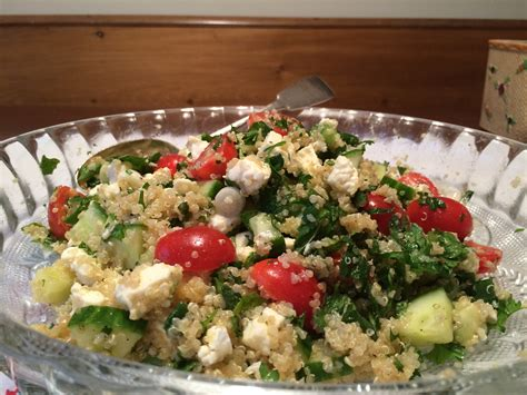quinoa tabbouleh with feta recipe ina garten food network quinoa tabbouleh with feta will have your taste buds