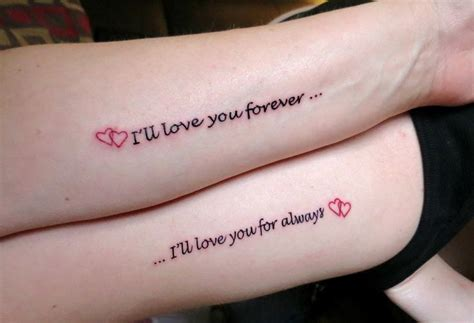 love you forever tattoo you forever creativefan