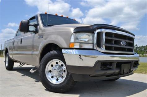 sell   ford   crew cab xlt diesel great price