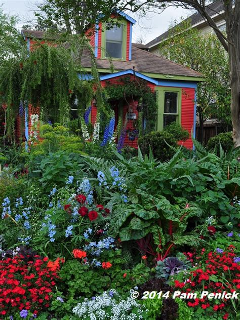 flower gardens in houston drive by gardens cottage garden color explosion in