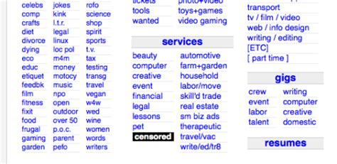 craigslist adult section craigslist censored adult section removed some