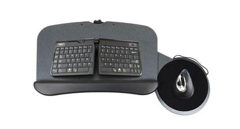 desk mounted slide out keyboard tray switch keyboard tray uplift desk