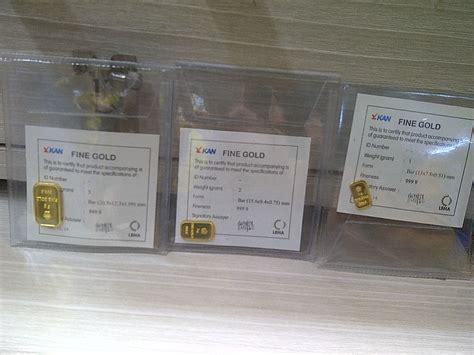 Antam Logam Mulia Emas 1 Gram jual emas batangan antam 3 gram asli logam mulia