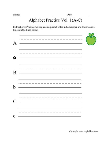 Writing For Beginners Worksheets