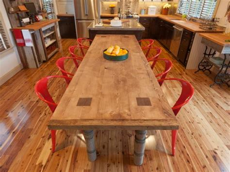 reclaimed wood desk diy how to build a reclaimed wood dining table how tos diy