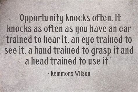 New Opportunities Knockingi Often Whethe by 1804 Best Quotations And Sayings Images On