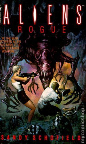 Rogue 1995 1st Series Autographed comic books in aliens pb non canonical novels