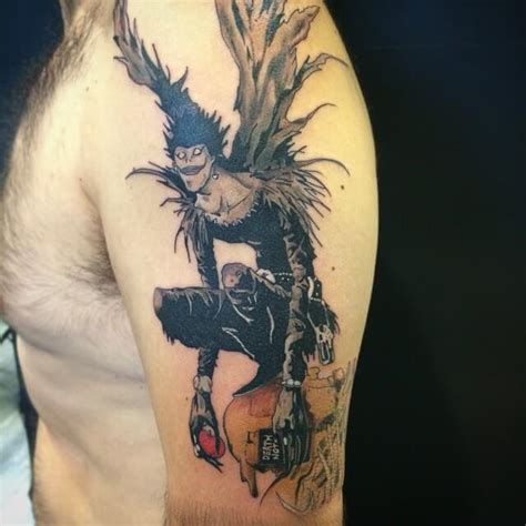 death note tattoo tatuaje note