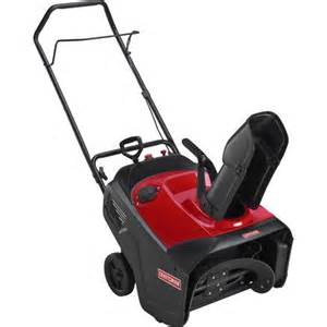 """sears canada: craftsman 21"""" snow blower for $349.95"""