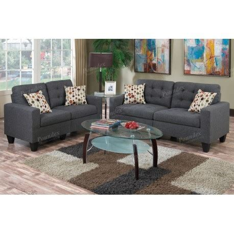 Windsor Sofa And Loveseat Blue Grey Deals