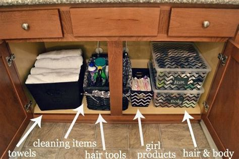 bathroom sink organizer ideas how to organized your bathroom cupboards other bathroom organizing tips and tricks um