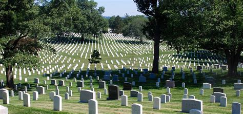 memorial services venue near arlington national cemetery