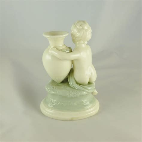 Cherub Vase by Antiques Atlas Royal Worcester Cherub And Urn Vase C1862
