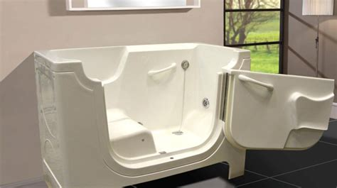 Tub Chair Lift by Wheelchair Accessible Bathtubs Gfmstepnbath