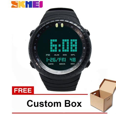 jual murah skmei  jam tangan digital sporty pria jam