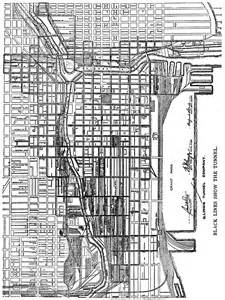 Chicago Underground Tunnels Map by Chicago Tunnels Map Submited Images