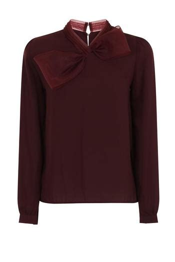 soma jumbo bow blouse from crouch end by scarecrow