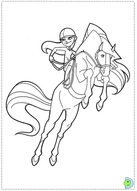 coloring pages on coloring book info horseland coloring page dinokids org