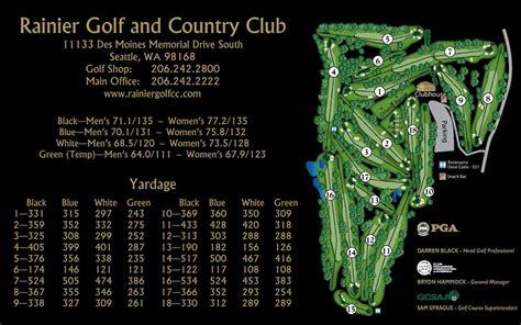 Chappaquiddick Club Membership Cost Rainier Golf Country Club Course Information