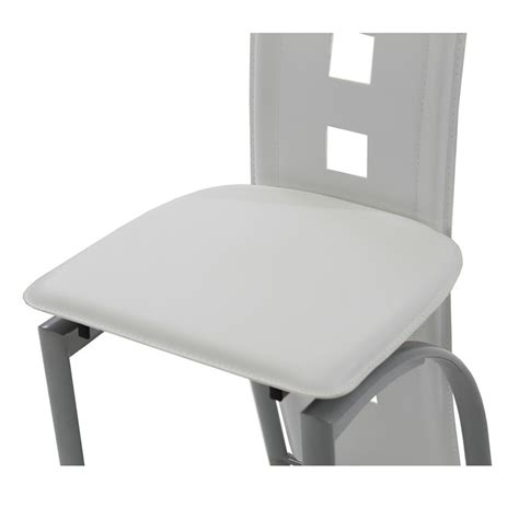 White Globs In Stool by Dominoes White Counter Stool El Dorado Furniture
