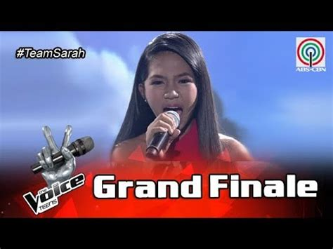 the voice philippines finale sarah geronimo and klarisse the voice teens philippines 2017 winner is jona soquite of