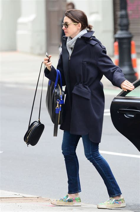 Hathaways Date Style by Hathaway Style Out In New York City April 2015