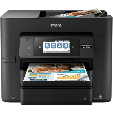 Printer Epson All In One Terbaru epson workforce pro wf 4740 all in one inkjet printer c11cf75201