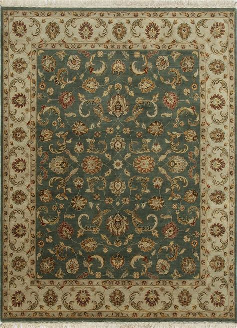 Indian Handmade Rugs - indian handmade rugs 4x6 knotted classic wool rugs