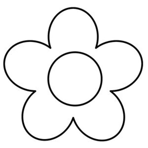 applique templates free the 25 best flower template ideas on paper