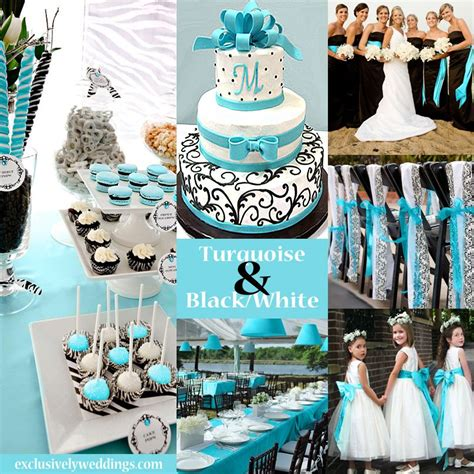 black and white wedding colors seven glorious combinations my style wedding colors