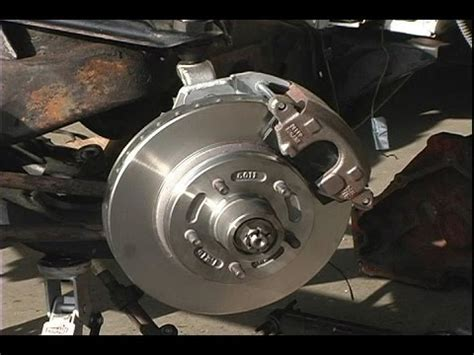 installing low buck disc brakes on a 1962 buick electra