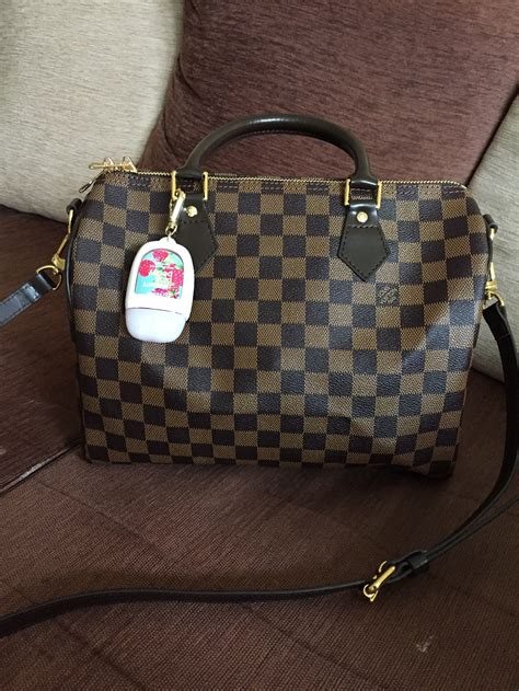 high quality lv damier speedy replica review was