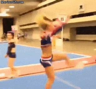 cheerleader back flips, reality vs expectations