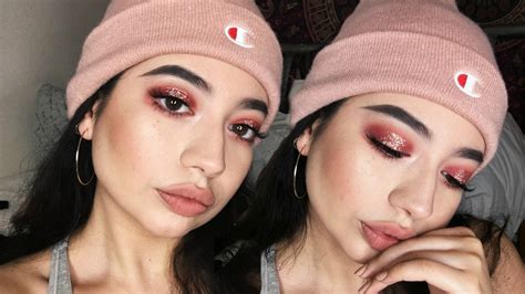tutorial makeup lt pro pink glitter halo eye makeup tutorial tarte tarteist