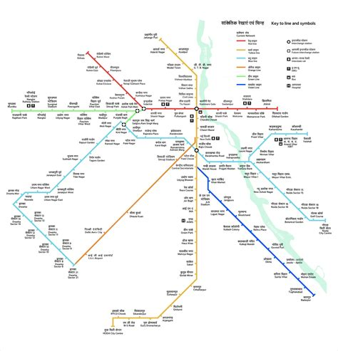 route map an unofficial delhi metro route map chasing the metro