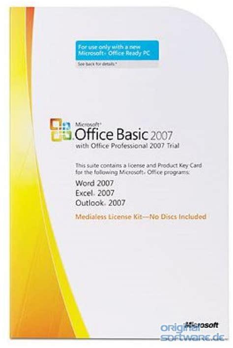 Microsoft Office Basic 2007 by Microsoft Office Basic 2007 Mlk Version Bei