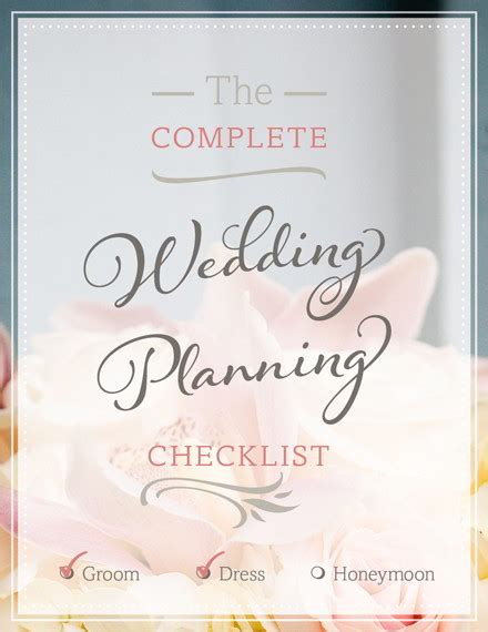 Winnie S Wedding Organizer by Free Wedding Planning Checklist Pdf Print Or