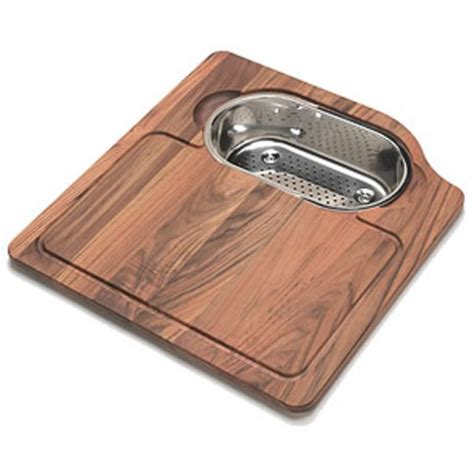 kitchen sink accessories orca solid wood cutting board