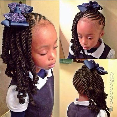 back to school hairstyles african hair cute cornrows and braids for little girls cornrows and