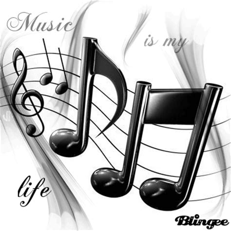 music is my life picture #115874047 | blingee.com