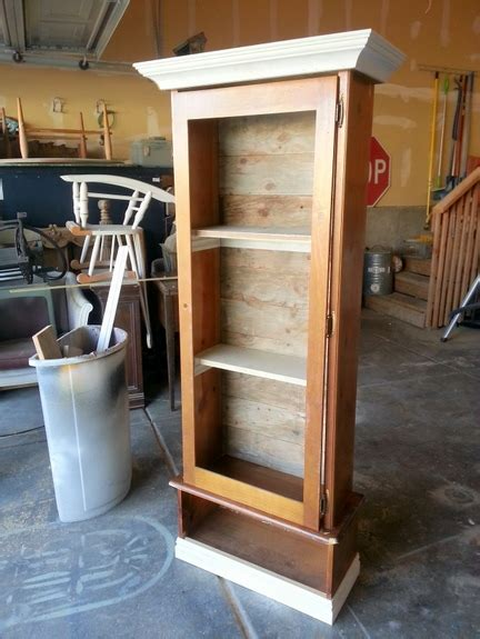 how to build a simple gun cabinet plans free
