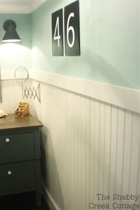 bathrooms with chair rail molding flats wall trim and shabby on pinterest
