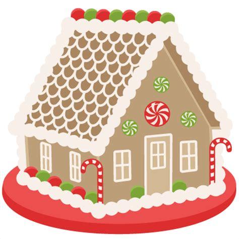 gingerbread house clipart gingerbread house scrapbook clip art christmas cut outs for cricut cute svg cut files