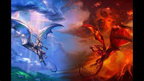 Hell And Heaven Wallpaper